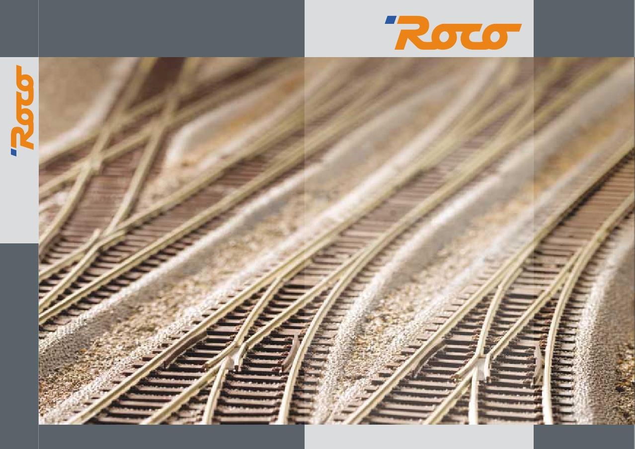 . Roco 42430 Gebogenes Gleis R20-1962 mm//5° Gegenbogen zu 10°-Weichen