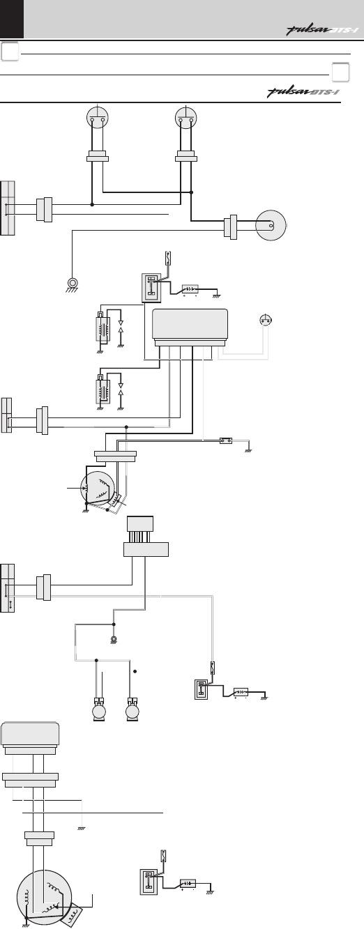 Bajaj Pulsar 150 Electrical Wiring Diagram
