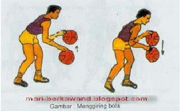 Pengertian Dan Cara Dribbling Bola Basket